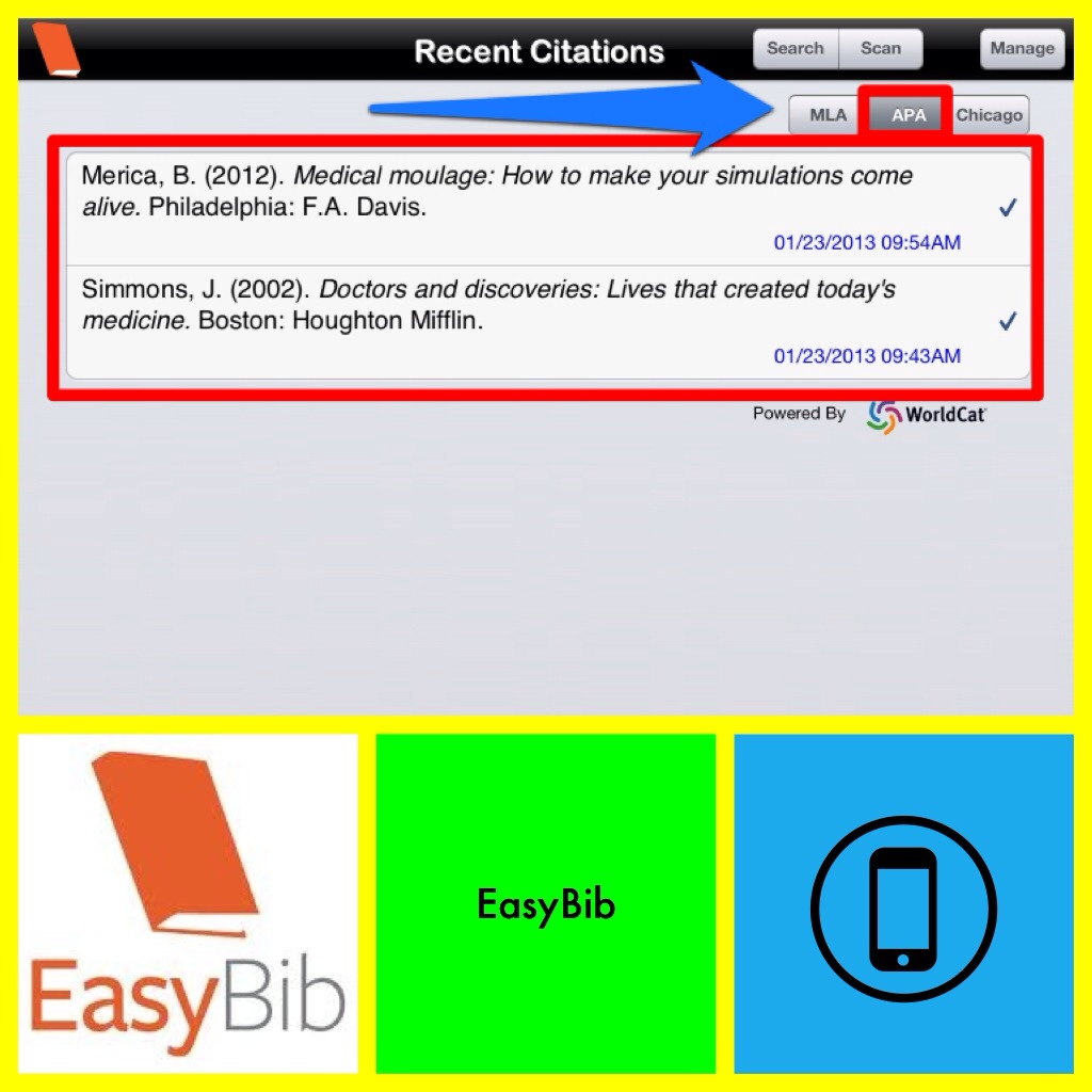Using Easybib com to cite a website article