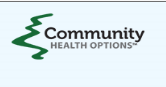 "Maine Community Health Options logo with hyperlink to newspaper article ""Growing small business in Maine: The twin engines of Maine's next economy are innovators and entrepreneurs"""